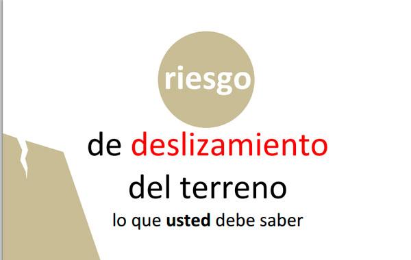 El Colegio de Geólogos de País Vasco publica una guía para actuar ante deslizamientos