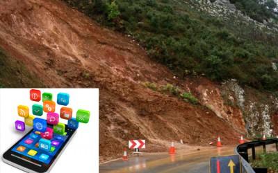 Apps móviles para recabar información sobre deslizamientos con la colaboración ciudadana