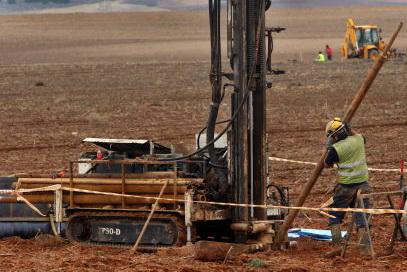 La inestabilitat del terreny escollit amenaça les obres de la sitja nuclear del Cementiri Nuclear